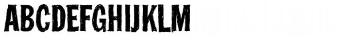 FranklinGothicHandCond Font UPPERCASE