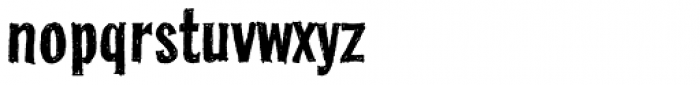 FranklinGothicHandCond Font LOWERCASE