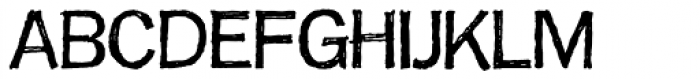 FranklinGothicHandLight Font UPPERCASE