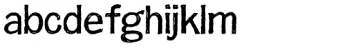 FranklinGothicHandLight Font LOWERCASE