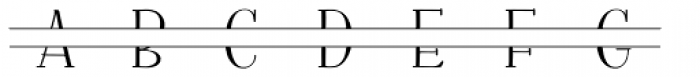 Fratello Nick Split Monogram Font LOWERCASE