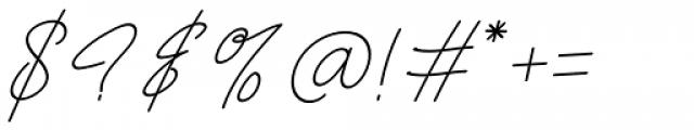Frayhord Monoline Regular Font OTHER CHARS