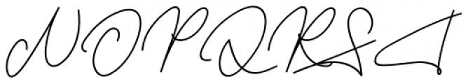 Frayhord Monoline Regular Font UPPERCASE
