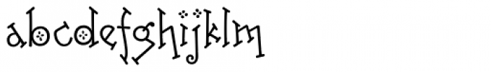 Freaky Frog BF Font LOWERCASE