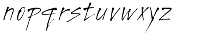 Freaky Prickle Font LOWERCASE