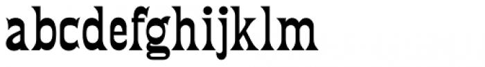 Fredericksburg NF Font LOWERCASE