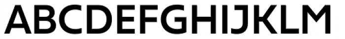 Frederik DemiBold Font UPPERCASE