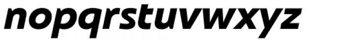 Frederik Heavy Italic Font LOWERCASE