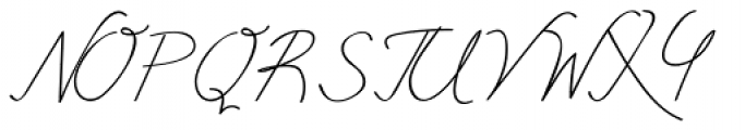 Free Will Normal Font UPPERCASE