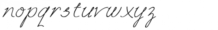 Free Will Normal Font LOWERCASE