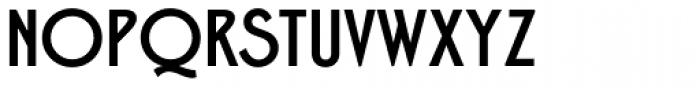 Free Zone Medium Font UPPERCASE