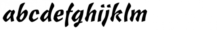 Freehand 471 BT Font LOWERCASE