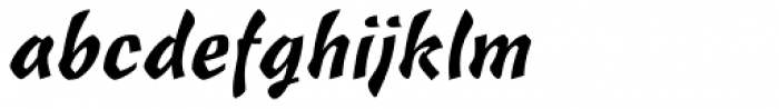 Freehand 471 Font LOWERCASE