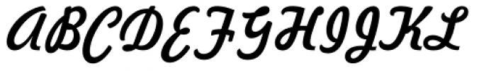 Freehand 521 Font UPPERCASE