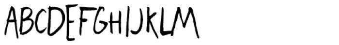Freehand Blockletter Regular Font UPPERCASE