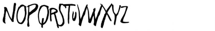 Freehand Blockletter Regular Font LOWERCASE