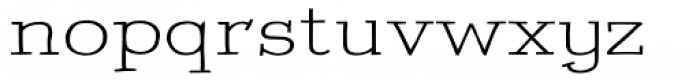 Freekenfont Exanded Font LOWERCASE
