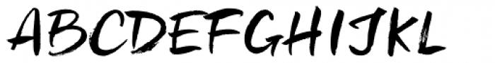 Freeland Font UPPERCASE