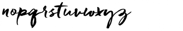 Freeland Font LOWERCASE