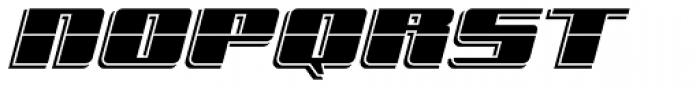 Freeline Cruise Express Font UPPERCASE