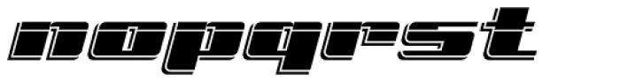 Freeline Cruise Express Font LOWERCASE