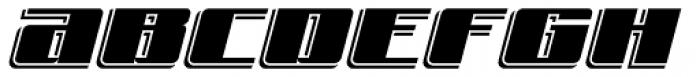 Freeline Express Font UPPERCASE