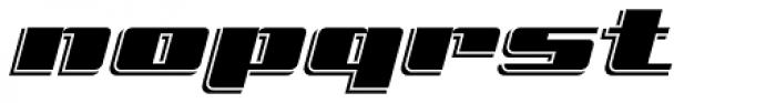 Freeline Express Font LOWERCASE