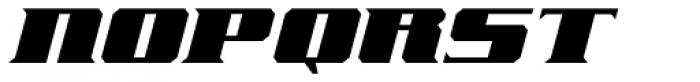Freeline Serif Cruiser Font UPPERCASE