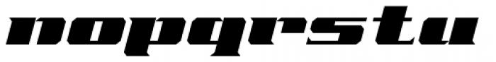 Freeline Serif Cruiser Font LOWERCASE