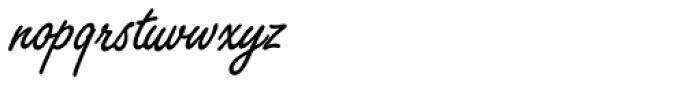 Freestyle Script SB Reg Font LOWERCASE