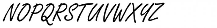 Freestyle Script Font UPPERCASE