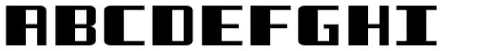 Freezer BTN Wide Font UPPERCASE