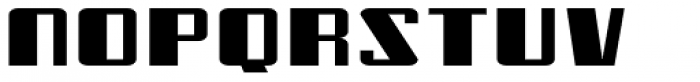 Freezer BTN Wide Font LOWERCASE