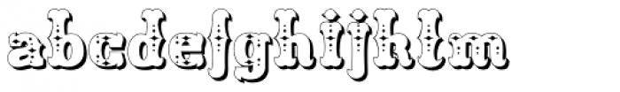 Freibeuter NR High Deko Font LOWERCASE