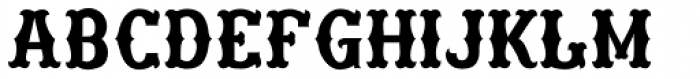 Freibeuter NR High smooth light Font LOWERCASE