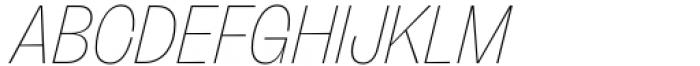 Freigeist Con Thin Italic Font UPPERCASE