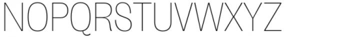 Freigeist Con Thin Font UPPERCASE