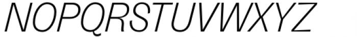 Freigeist Light Italic Font UPPERCASE