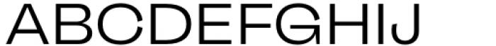 Freigeist Wide Regular Font UPPERCASE