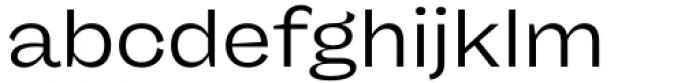 Freigeist Wide Regular Font LOWERCASE
