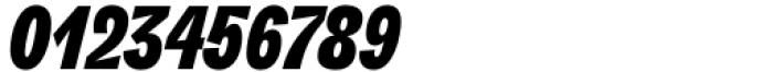 Freigeist XCon Black Italic Font OTHER CHARS