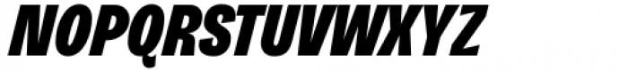 Freigeist XCon Black Italic Font UPPERCASE