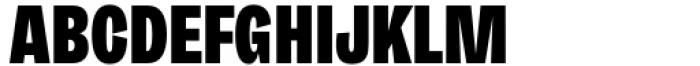 Freigeist XCon Black Font UPPERCASE