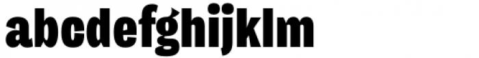 Freigeist XCon Black Font LOWERCASE