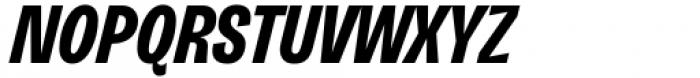 Freigeist XCon Bold Italic Font UPPERCASE