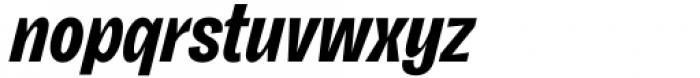 Freigeist XCon Bold Italic Font LOWERCASE