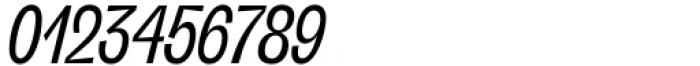 Freigeist XCon Regular Italic Font OTHER CHARS