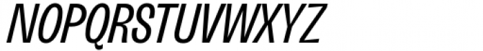 Freigeist XCon Regular Italic Font UPPERCASE