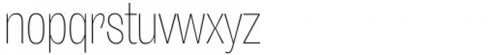 Freigeist XCon Thin Font LOWERCASE