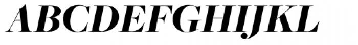 Freight Big Pro Black Italic Font UPPERCASE